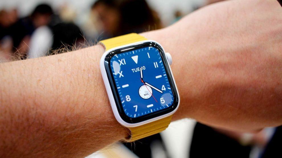 Reparo Apple Watch série 5 38mm 40mm 42mm e 44mm